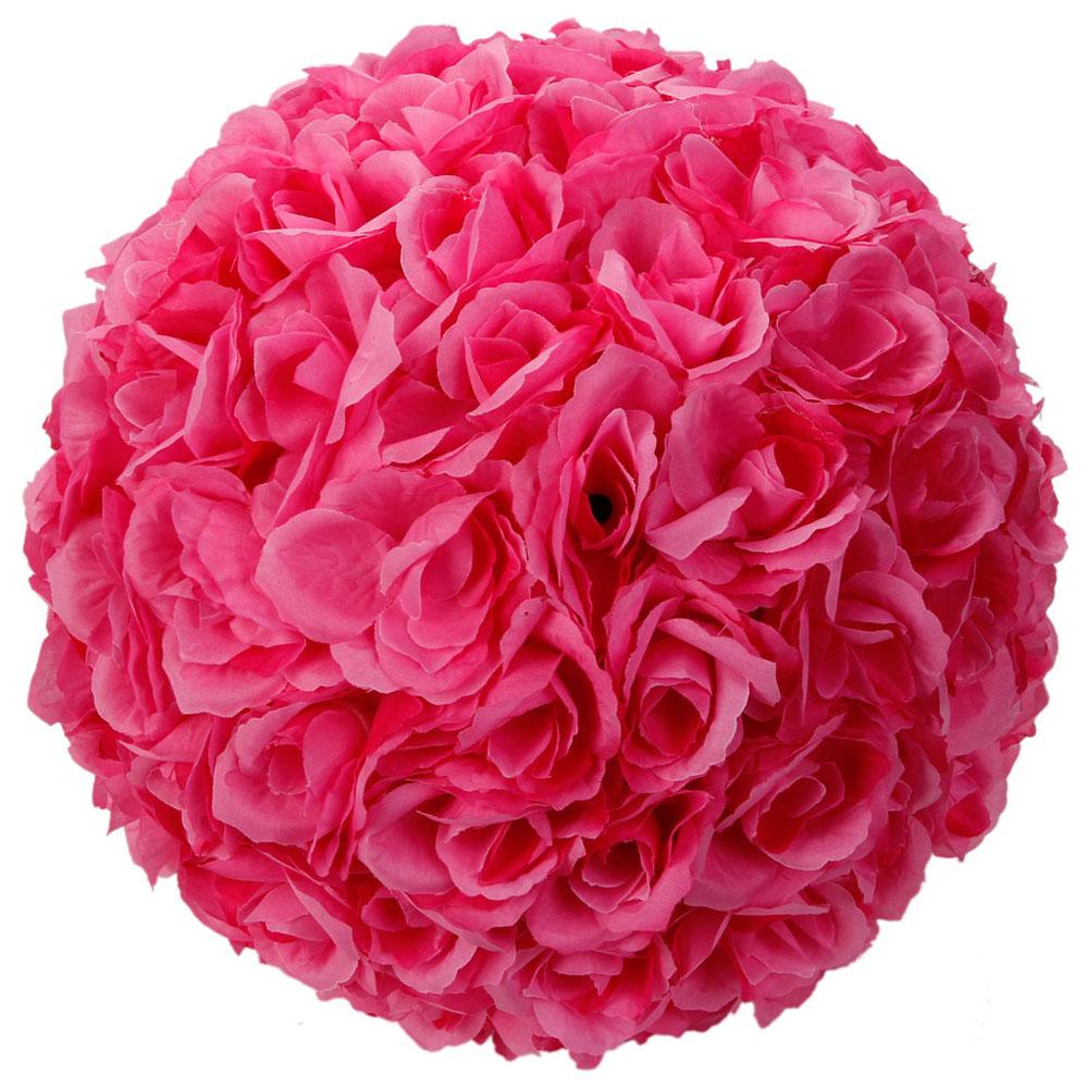 Lot 1/5/10 Wedding Silk Rose Flower Ball 10\