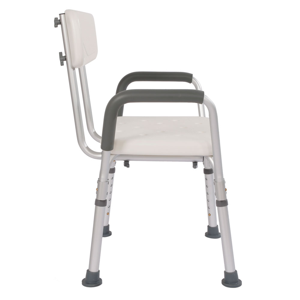 Medical Adjustable Shower Chair Elderly Bath Tub Bench