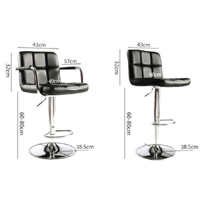 Set of 2 PU Leather Modern Swivel Bar Stool w Arm  : 132F130266282F13026628 3 170527103523 from www.ebay.com size 700 x 700 jpeg 42kB