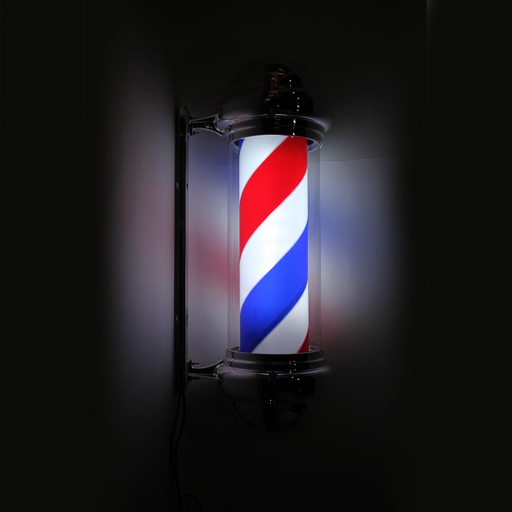 "Barber Shop Hairdress 30"" LED Light Sign Hair Salon Pole"