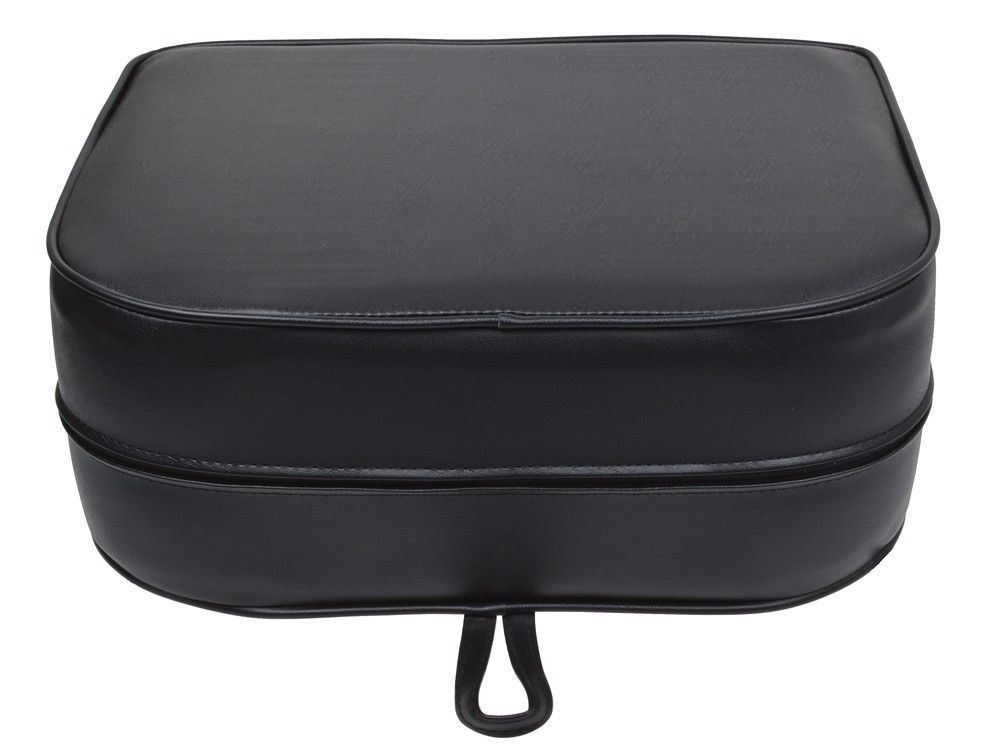 Styling Chair Children Booster Seat Cushion Black Barber