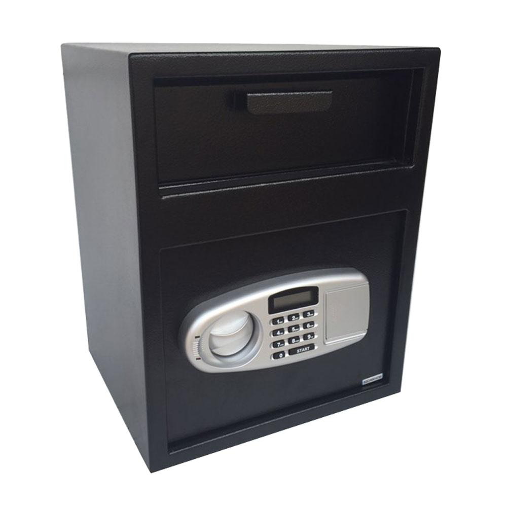 Details about Durable Digital Safe Box Security Depository Money Cash Drop  Slot Lock Office