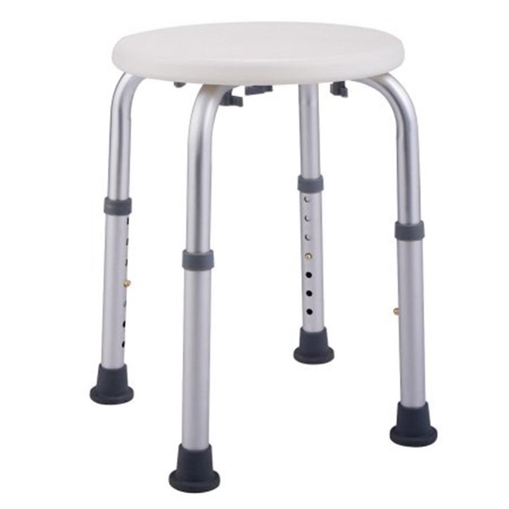 Modern Bath Shower Chair Adjustable Medical 7 Height Round Bathtub ...