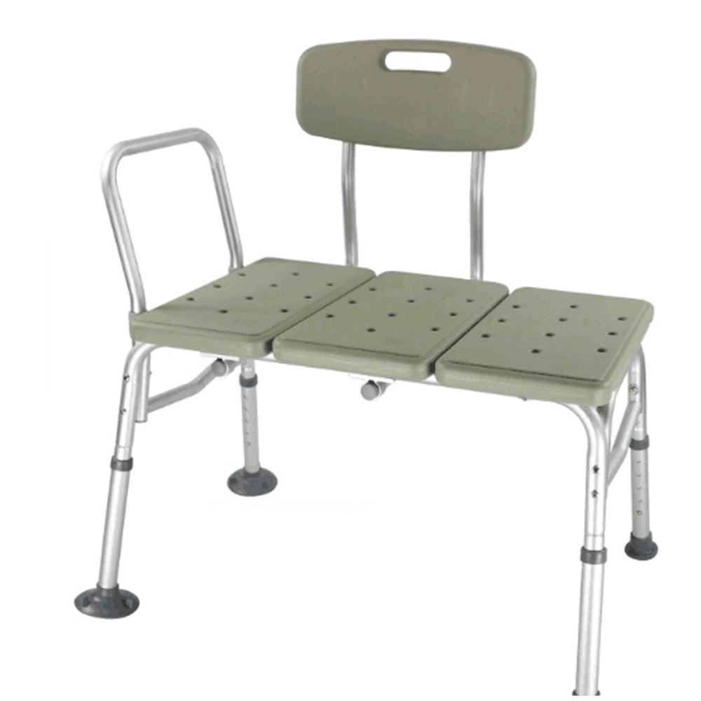 Elderly Shower Chair 10 Height Adjustable Bathtub Medical Bench Bath ...