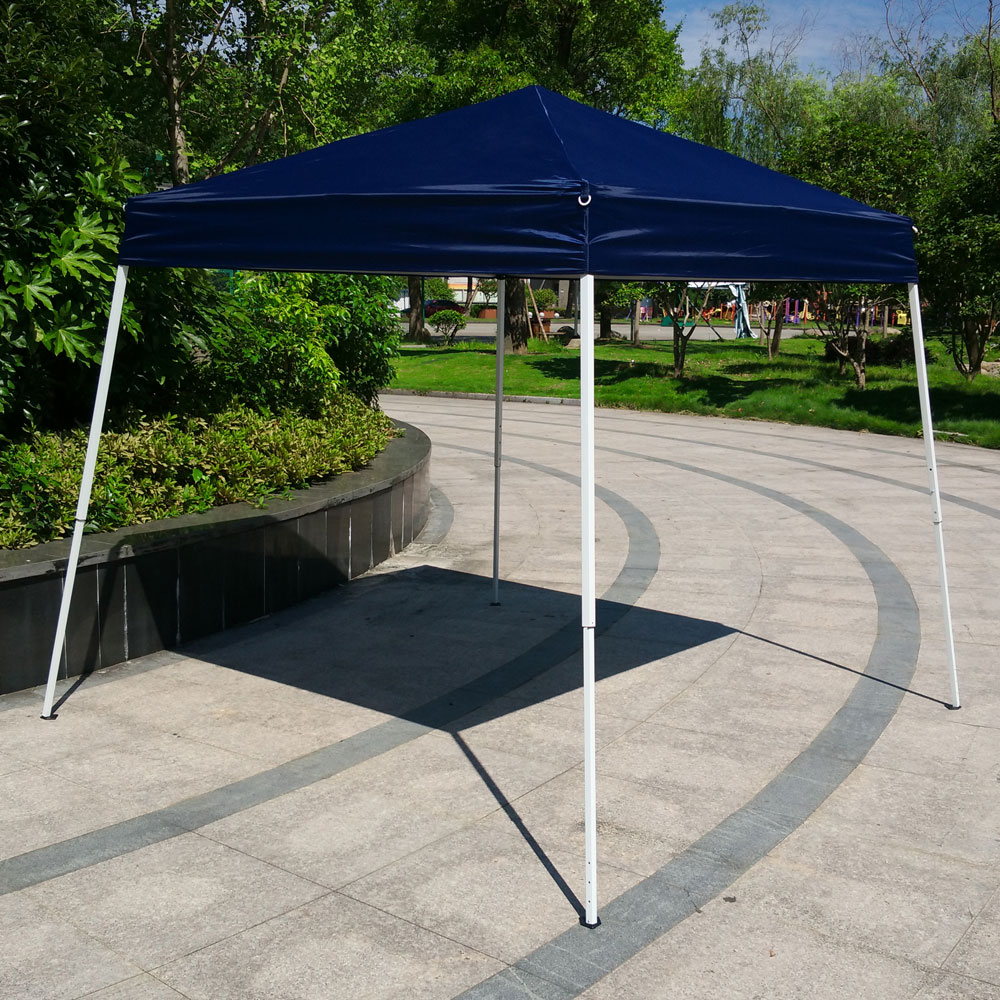 new outdoor easy pop up sun shade canopy gazebo party wedding tent heavy duty ebay. Black Bedroom Furniture Sets. Home Design Ideas