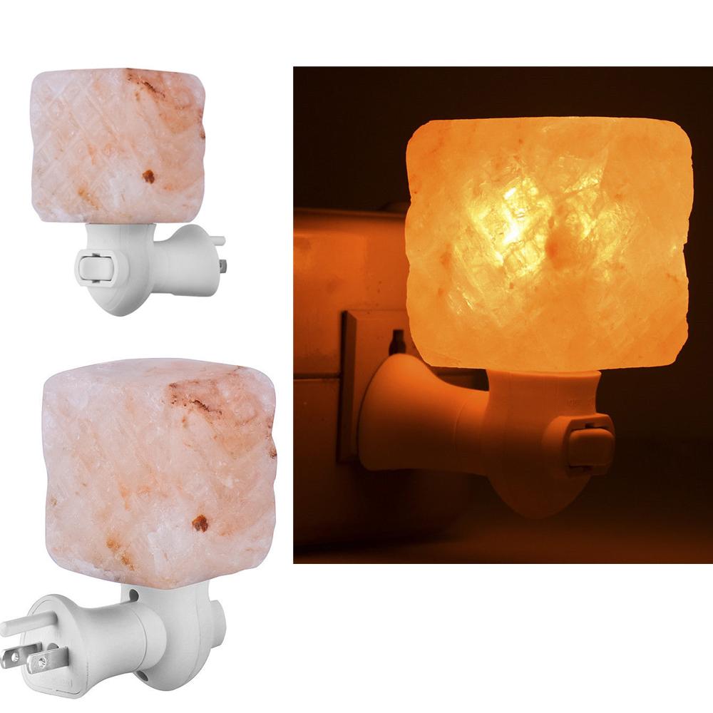 Himalayan natural wall air purifier rock crystal salt lamp for Himalayan salt decor