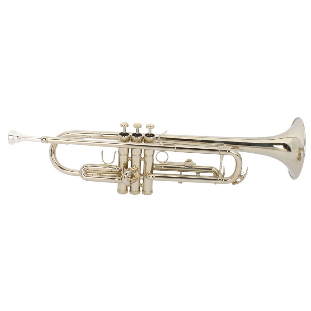 Trumpet For Sale : hot sale b flat silver bb trumpet for concert band with case ebay ~ Vivirlamusica.com Haus und Dekorationen