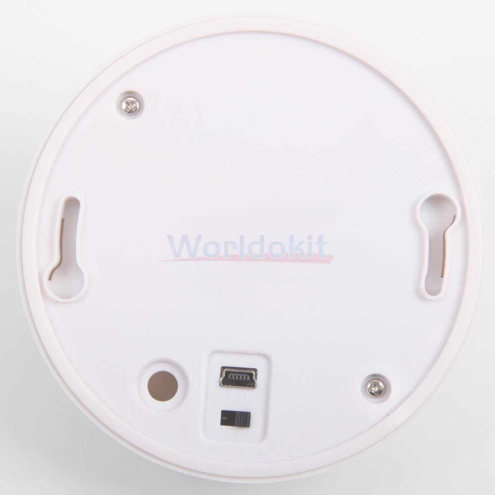 wireless hd wifi 720p smoke detector video camera motion dvr digital nanny cam ebay. Black Bedroom Furniture Sets. Home Design Ideas