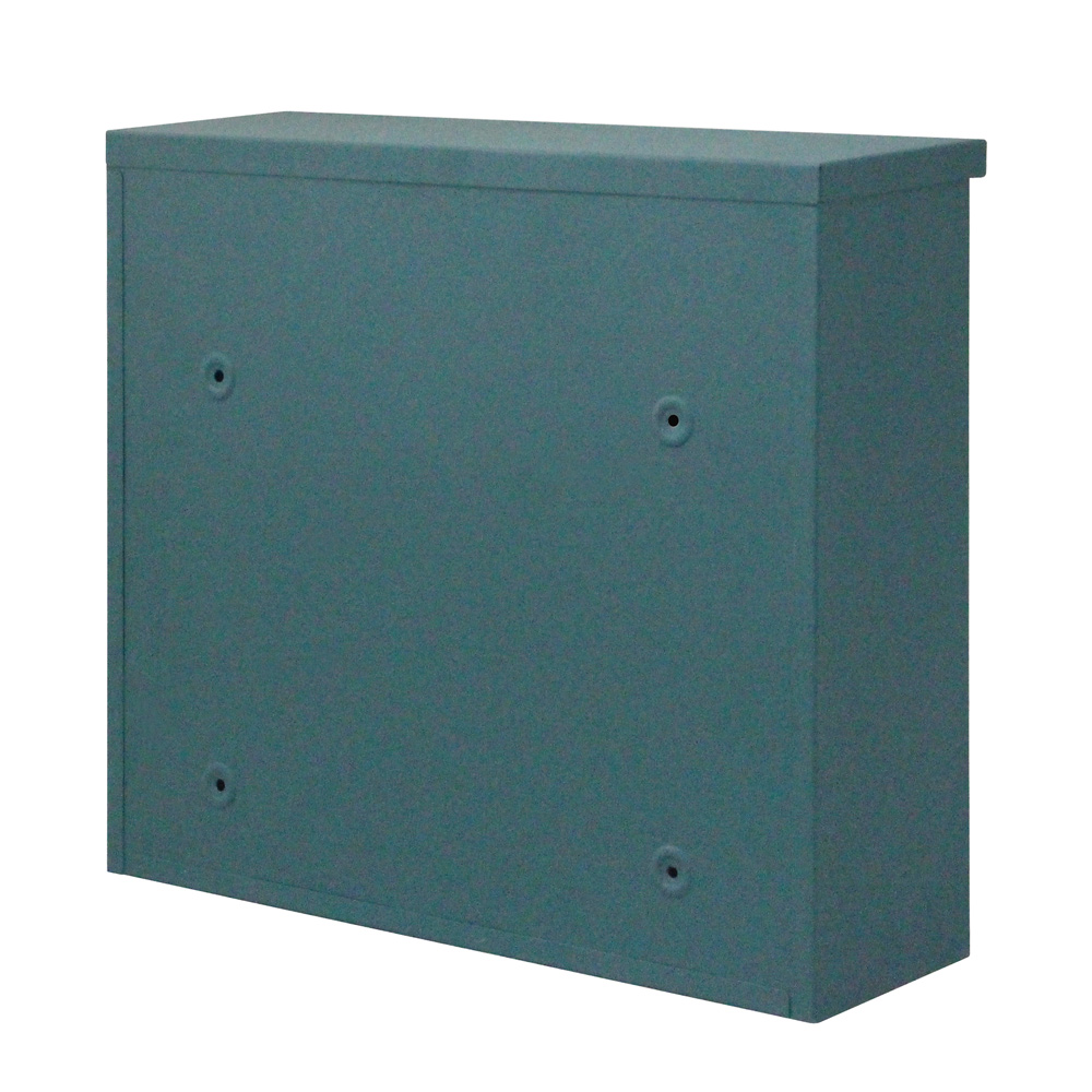 Durable Iron Mailbox Wall Mount Storage Letter Safe Post