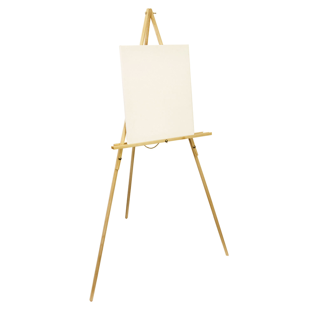 french easel wood tripod studio stand floor display artist painting