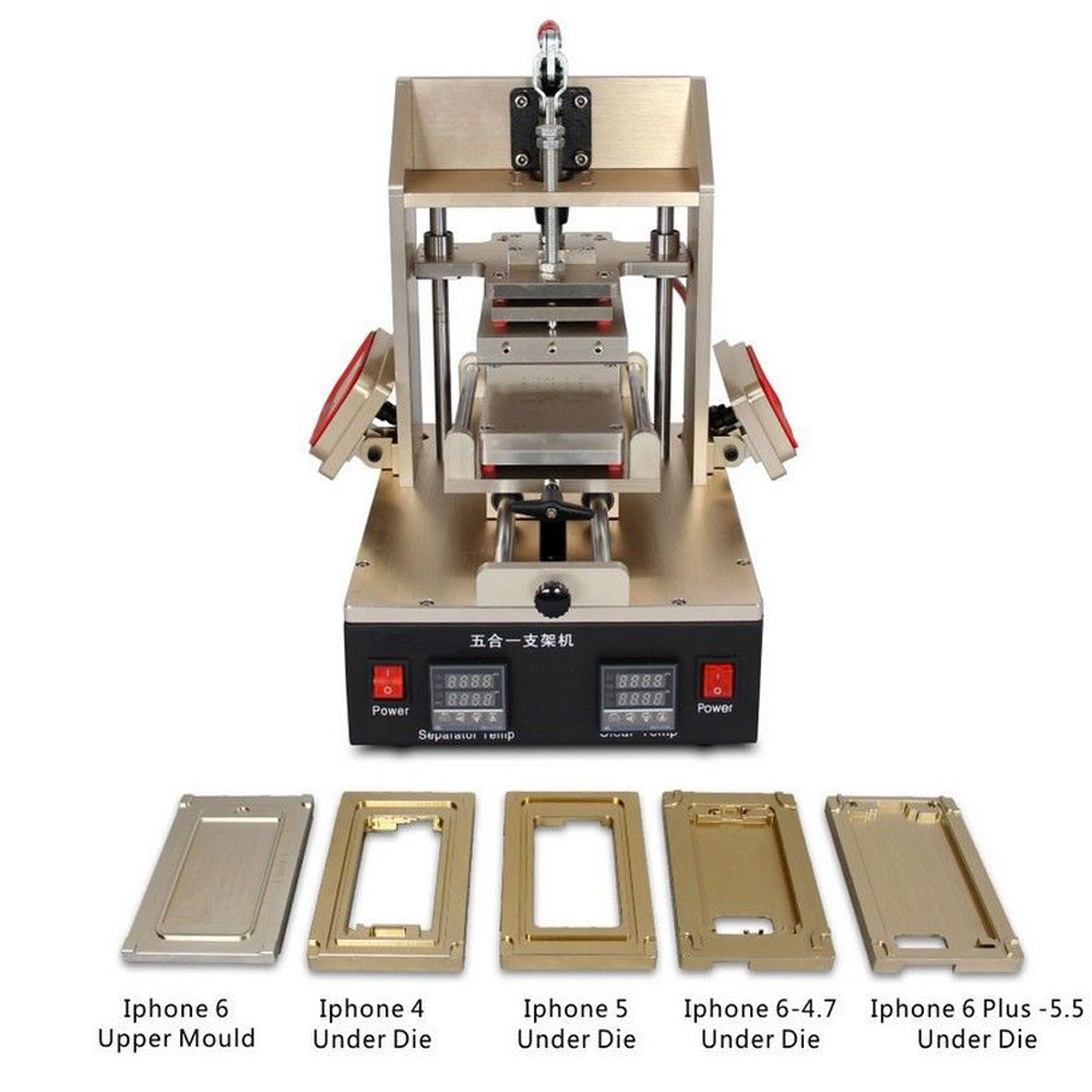 5in1 Lcd Touch Screen Frame Separator Glue Removal