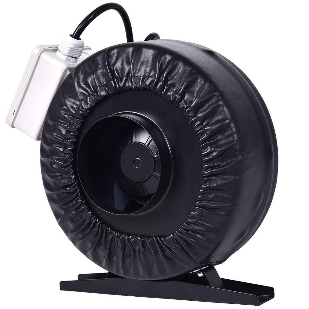Premium 4 Strong Cfm Ventilation Inline Fan Hydroponics Exhaust Fan Cooling Ebay