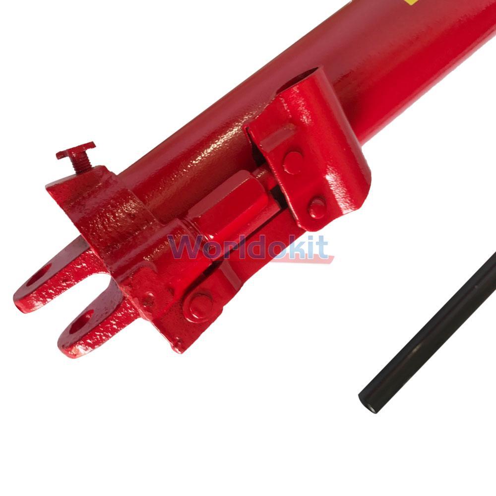 Cherry Picker Jack Parts : Ton long manual hydraulic ram jack one pump engine lift