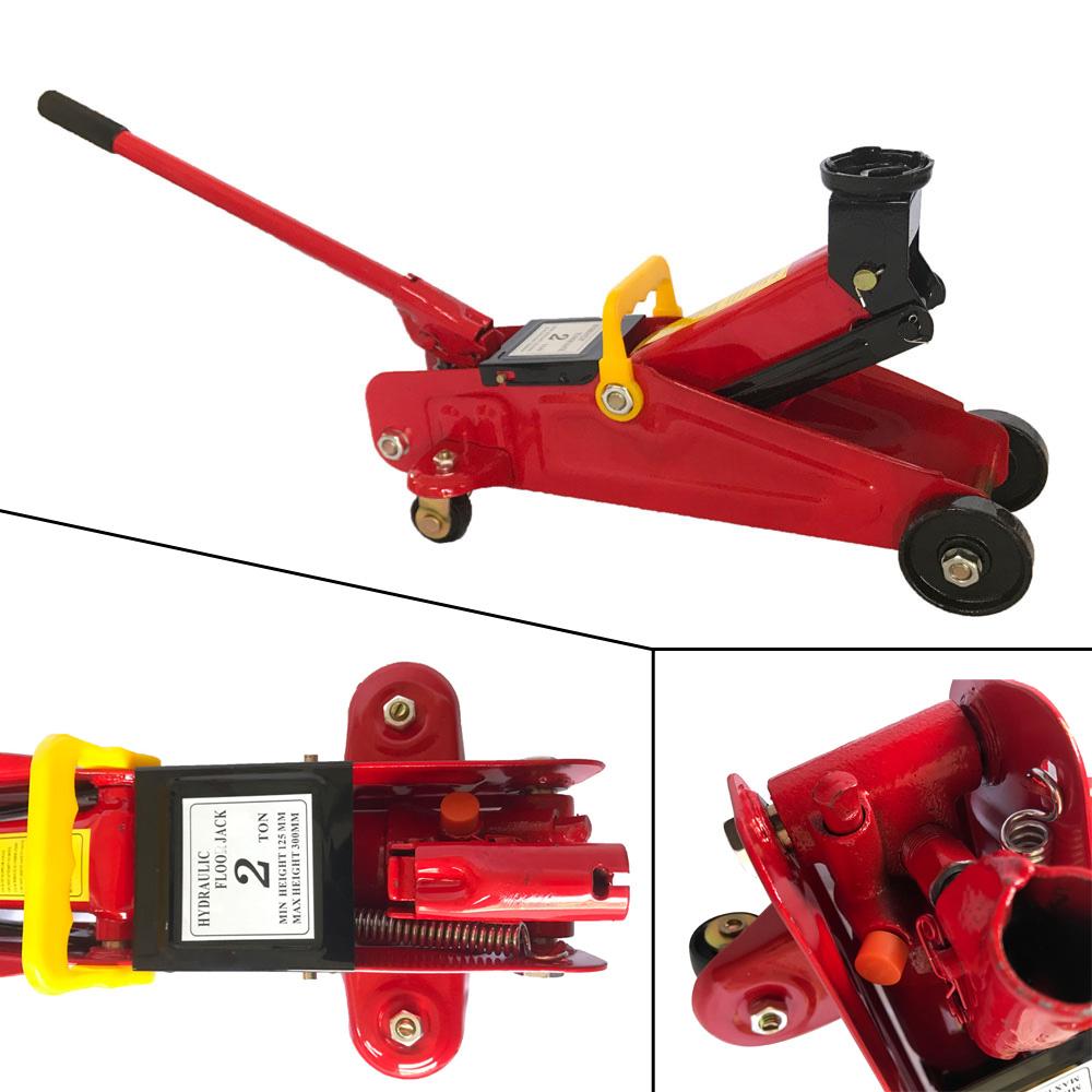 Hydraulic Lift Functions : Hydraulic floor jack low profile car auto vehilce ton