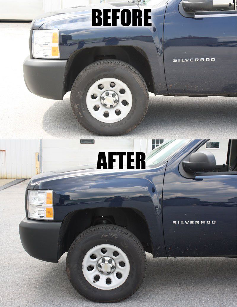 2 Inch Front Leveling Lift Kit for 2007-2018 Chevy ...
