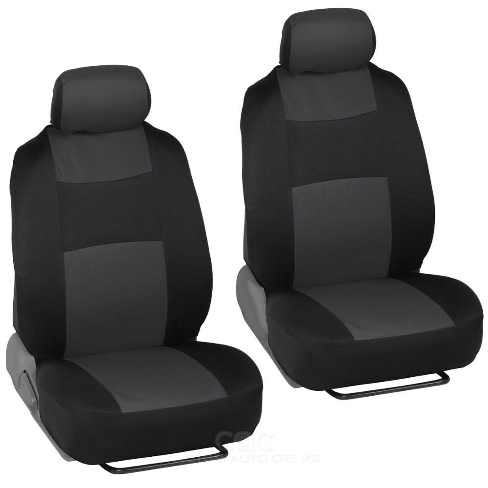 flat cloth car seat covers for four seasons universal steering wheel belt pad ebay. Black Bedroom Furniture Sets. Home Design Ideas