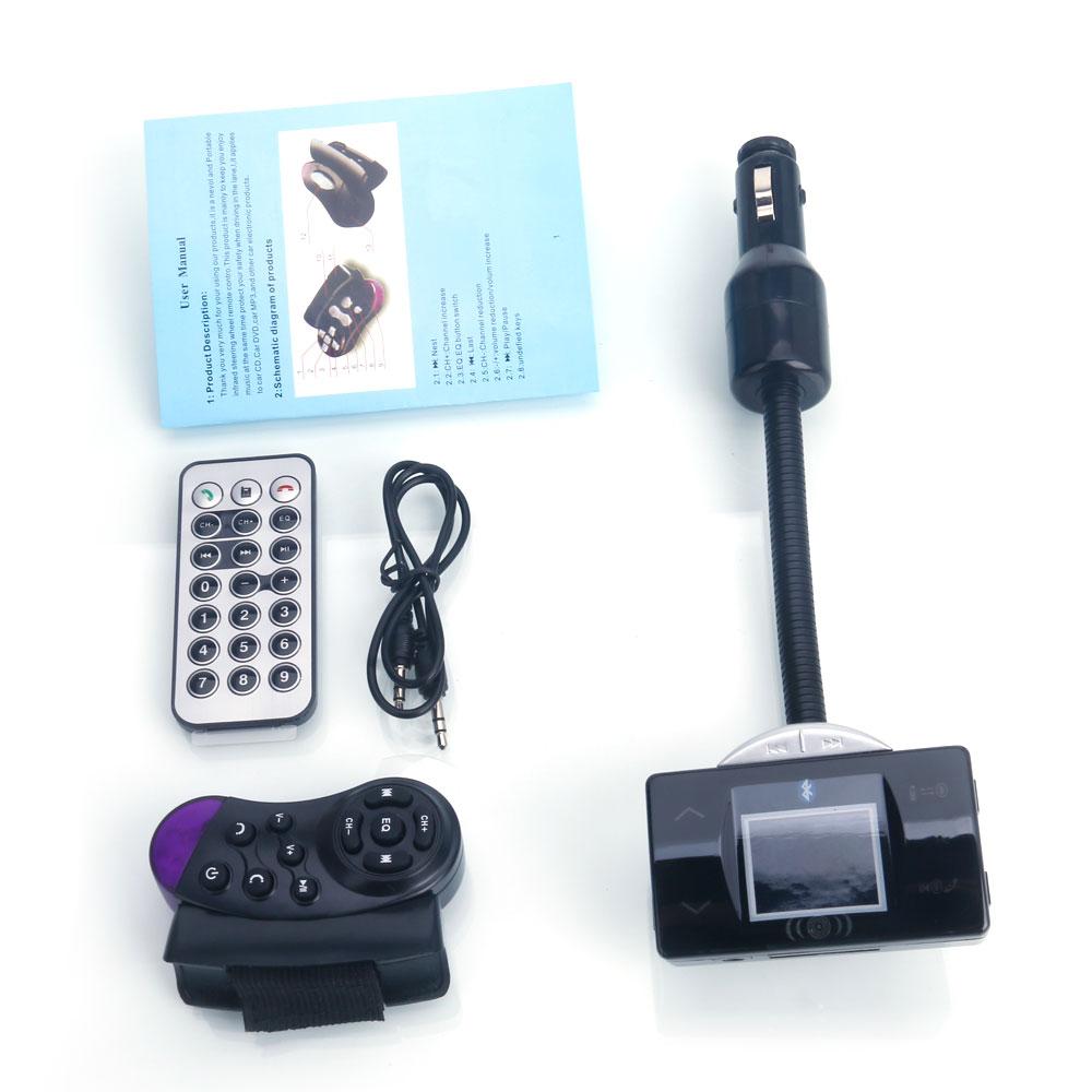 Wireless Bluetooth Handsfree 35mm Usb Mp3 Call Led Fm Transmitter Circuit Diagram External Lcd