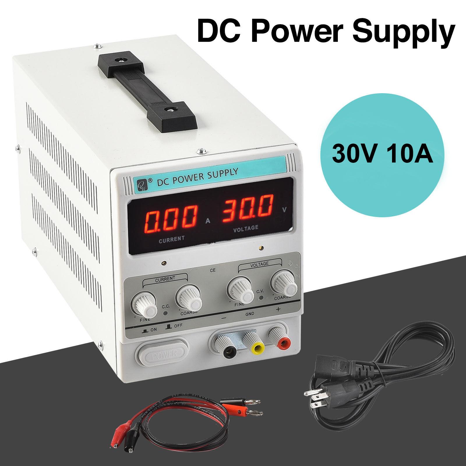 10a 1 30v Variable Power Supply Blaise The Baker Adjustable Dc Voltage Regulator Module Lm317 Mpjacom Digital Regulated Lab Grade W Cable