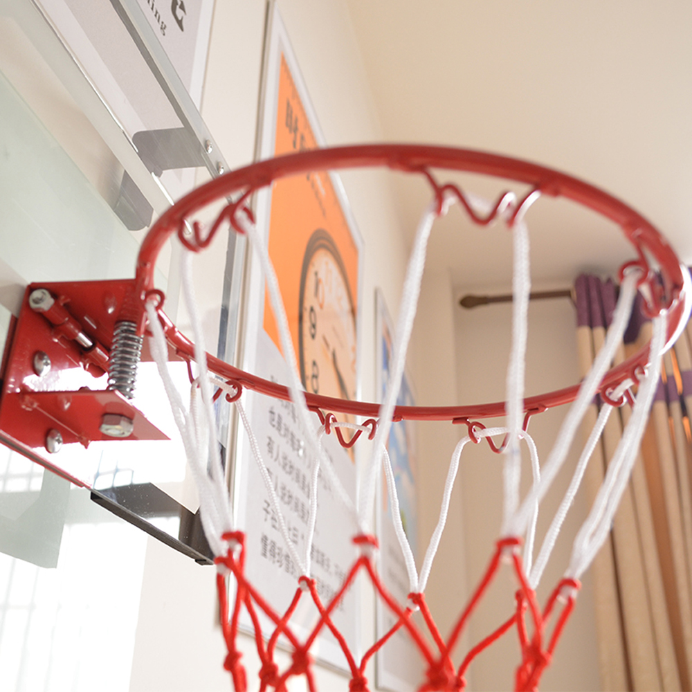 98f34b1f869 Mini Basketball Hoop System Kids Goal Over The Door Indoor Sports with Ball