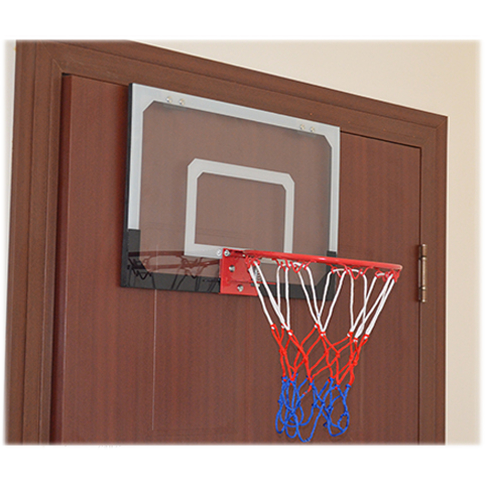 Mini Basketball Hoop System Kids Goal Over The Door Indoor Sports ...