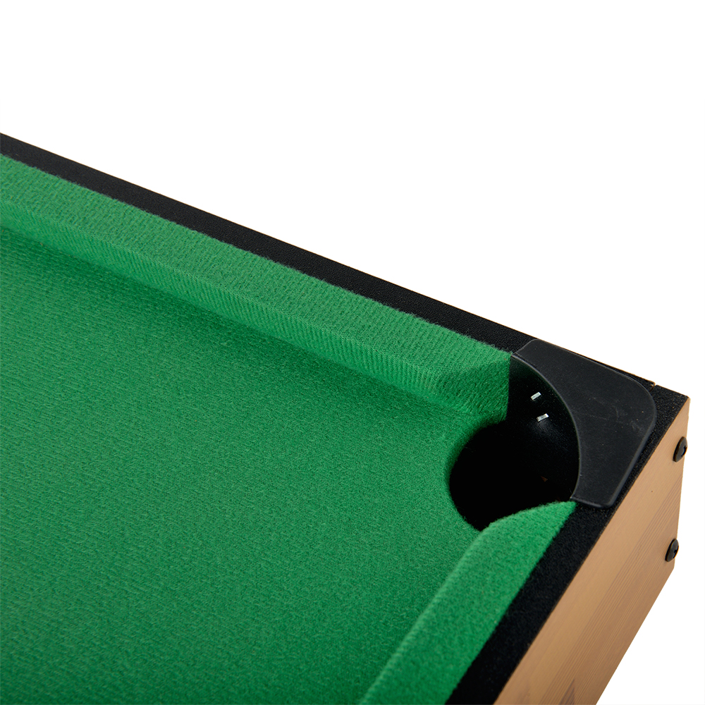 Play pool game at your home with this Winmax WMG08979-2 18  Mini Pool Table! It includes everything youu0027ll need for play and requires no assembly.  sc 1 st  eBay & Mini Billiard Ball Snooker Tabletop Pool Table Top Desktop Game Set ...