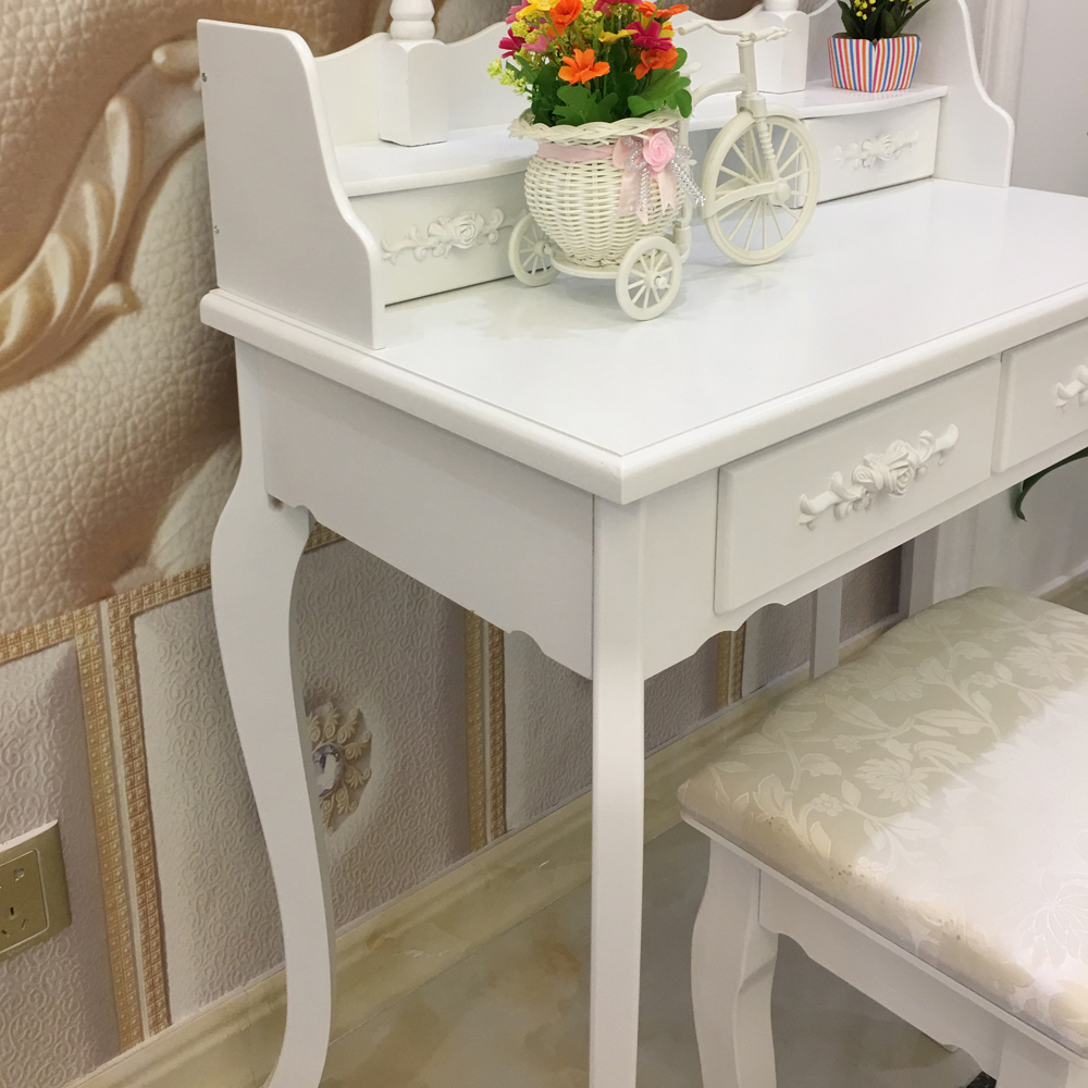 Girls Are Eager For A Private Dressing Table For Makeup Every Day.  Beautiful Dressing Table Is Always Attractive. Do You Want To Buy A Set Of  Dressing Table